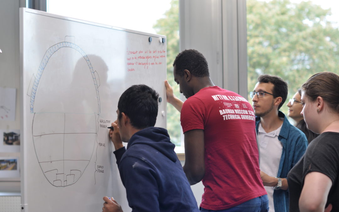Design Thinking at Swiss Space Summer Camp