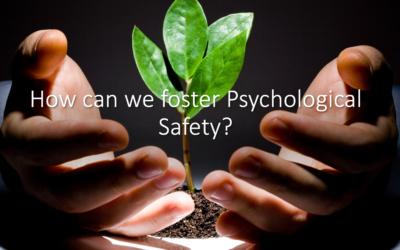Psychological Safety Workshop with VMI